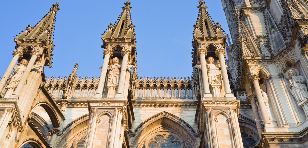 Notre Dame Cathedral in Reims, France
