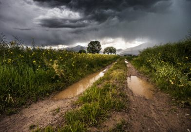 Přívalové deště a tropické teploty komplikovaly těžbu surovin