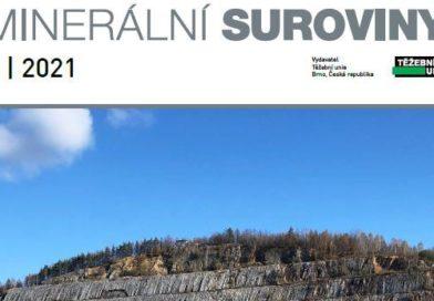 Nové číslo časopisu Minerální suroviny 1/2021